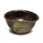 黒唐津 偏縁茶碗