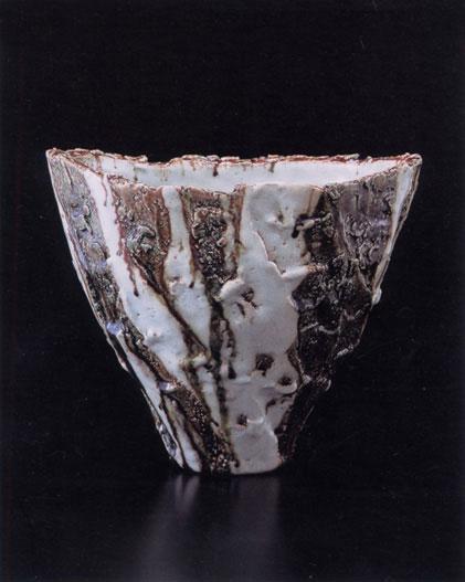 河内 英利 作陶展 ギャラリースミ2004