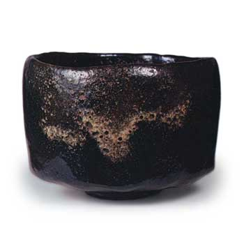 黒茶碗 銘東 117