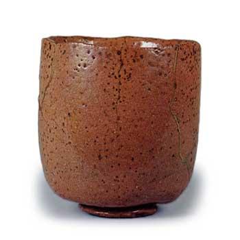 赤筒茶碗 131