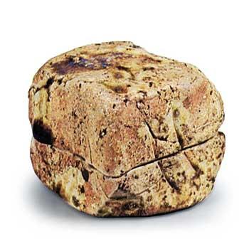 伊賀伽藍石形香合 081