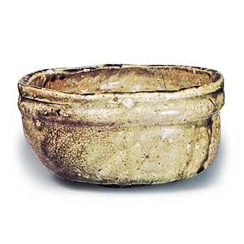 伊賀沓茶碗 銘捨石 082