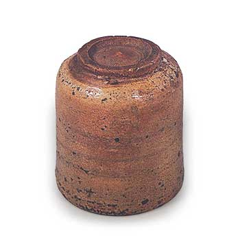 奥高麗 筒茶碗 銘 ねのこ餅 001