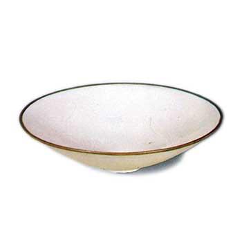 白磁平茶碗 はくじひらちゃわん 白磁平茶碗