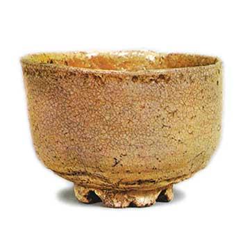 三芳野 みよしの 萩茶碗