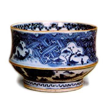 祥瑞洲浜茶碗 しょんずいすはまちゃわん 祥瑞茶碗